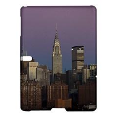 Skyline City Manhattan New York Samsung Galaxy Tab S (10 5 ) Hardshell Case  by BangZart