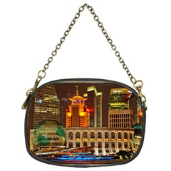 Shanghai Skyline Architecture Chain Purses (one Side)  by BangZart