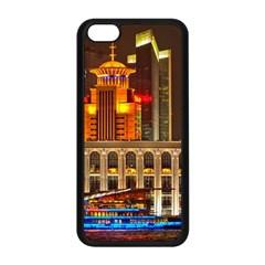 Shanghai Skyline Architecture Apple Iphone 5c Seamless Case (black)
