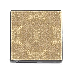 Ornate Golden Baroque Design Memory Card Reader (square) by dflcprints