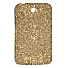 Ornate Golden Baroque Design Samsung Galaxy Tab 3 (7 ) P3200 Hardshell Case  by dflcprints