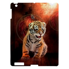 Cute Little Tiger Baby Apple Ipad 3/4 Hardshell Case by FantasyWorld7