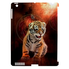 Cute Little Tiger Baby Apple Ipad 3/4 Hardshell Case (compatible With Smart Cover) by FantasyWorld7