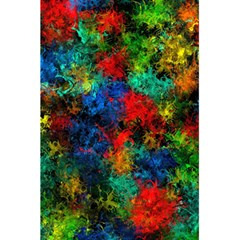 Squiggly Abstract A 5 5  X 8 5  Notebooks by MoreColorsinLife