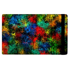 Squiggly Abstract A Apple Ipad 2 Flip Case by MoreColorsinLife