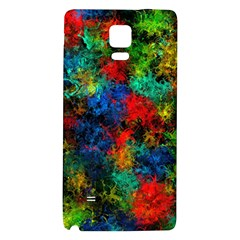 Squiggly Abstract A Galaxy Note 4 Back Case by MoreColorsinLife