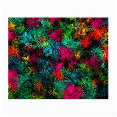 Squiggly Abstract B Small Glasses Cloth by MoreColorsinLife