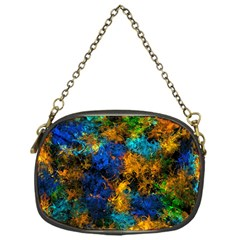 Squiggly Abstract C Chain Purses (one Side)  by MoreColorsinLife