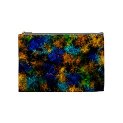 Squiggly Abstract C Cosmetic Bag (medium)  by MoreColorsinLife