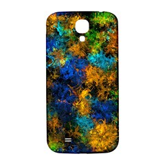 Squiggly Abstract C Samsung Galaxy S4 I9500/i9505  Hardshell Back Case by MoreColorsinLife
