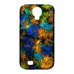 Squiggly Abstract C Samsung Galaxy S4 Classic Hardshell Case (pc+silicone) by MoreColorsinLife