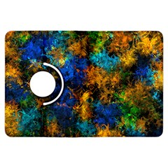 Squiggly Abstract C Kindle Fire Hdx Flip 360 Case by MoreColorsinLife
