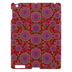 Hearts Can Also Be Flowers Such As Bleeding Hearts Pop Art Apple Ipad 3/4 Hardshell Case by pepitasart