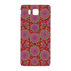 Hearts Can Also Be Flowers Such As Bleeding Hearts Pop Art Samsung Galaxy Alpha Hardshell Back Case by pepitasart