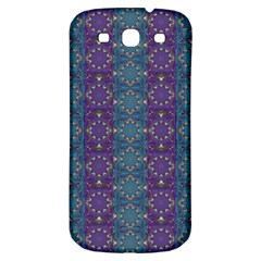 Retro Vintage Bleeding Hearts Pattern Samsung Galaxy S3 S Iii Classic Hardshell Back Case by pepitasart