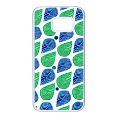 Leaves Samsung Galaxy S7 White Seamless Case by allgirls
