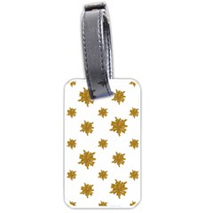 Graphic Nature Motif Pattern Luggage Tags (two Sides) by dflcprints