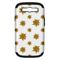 Graphic Nature Motif Pattern Samsung Galaxy S Iii Hardshell Case (pc+silicone) by dflcprints