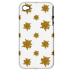 Graphic Nature Motif Pattern Apple Iphone 4/4s Hardshell Case (pc+silicone) by dflcprints
