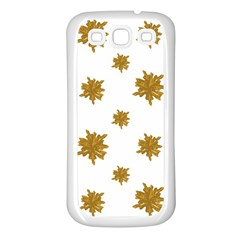 Graphic Nature Motif Pattern Samsung Galaxy S3 Back Case (white) by dflcprints