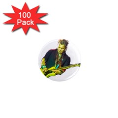 Johnny Depp Hollywood Vampires 1  Mini Magnets (100 Pack)  by Photozrus