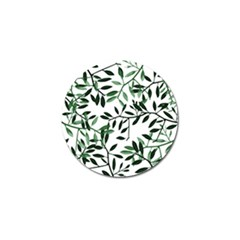 Botanical Leaves Golf Ball Marker by allgirls