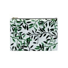 Botanical Leaves Cosmetic Bag (medium)  by allgirls