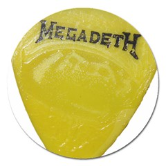 Megadeth Heavy Metal Magnet 5  (round) by Photozrus