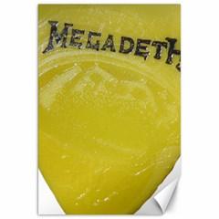 Megadeth Heavy Metal Canvas 20  X 30   by Photozrus