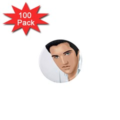 Elvis  1  Mini Magnets (100 Pack)  by Photozrus