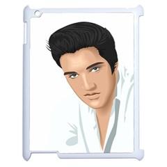 Elvis  Apple Ipad 2 Case (white) by Photozrus