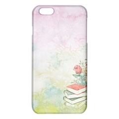 Romantic Watercolor Books And Flowers Iphone 6 Plus/6s Plus Tpu Case by paulaoliveiradesign
