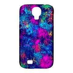 Squiggly Abstract E Samsung Galaxy S4 Classic Hardshell Case (pc+silicone) by MoreColorsinLife