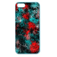 Squiggly Abstract D Apple Seamless Iphone 5 Case (color) by MoreColorsinLife