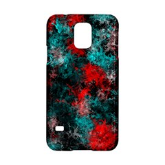 Squiggly Abstract D Samsung Galaxy S5 Hardshell Case  by MoreColorsinLife