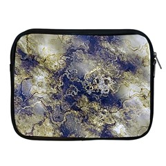 Wonderful Marbled Structure D Apple Ipad 2/3/4 Zipper Cases by MoreColorsinLife