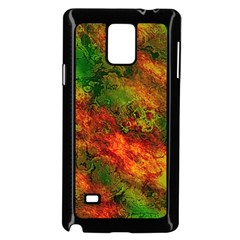 Wonderful Marbled Structure F Samsung Galaxy Note 4 Case (black) by MoreColorsinLife
