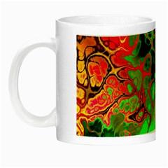 Awesome Fractal 35i Night Luminous Mugs by MoreColorsinLife