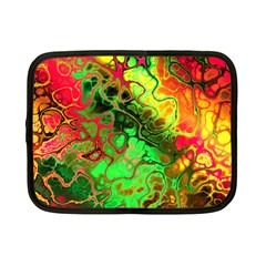 Awesome Fractal 35i Netbook Case (small)  by MoreColorsinLife