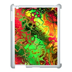 Awesome Fractal 35i Apple Ipad 3/4 Case (white) by MoreColorsinLife
