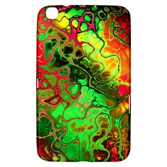 Awesome Fractal 35i Samsung Galaxy Tab 3 (8 ) T3100 Hardshell Case  by MoreColorsinLife