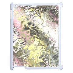 Awesome Fractal 35h Apple Ipad 2 Case (white) by MoreColorsinLife