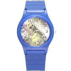 Awesome Fractal 35h Round Plastic Sport Watch (s) by MoreColorsinLife