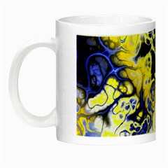 Awesome Fractal 35a Night Luminous Mugs by MoreColorsinLife