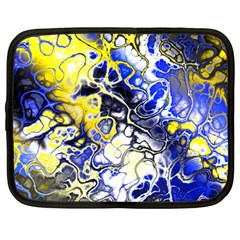 Awesome Fractal 35a Netbook Case (large) by MoreColorsinLife