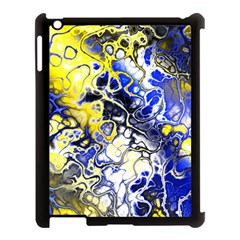 Awesome Fractal 35a Apple Ipad 3/4 Case (black) by MoreColorsinLife