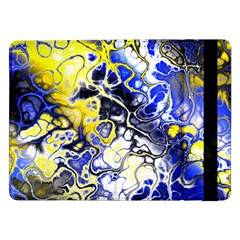 Awesome Fractal 35a Samsung Galaxy Tab Pro 12 2  Flip Case by MoreColorsinLife