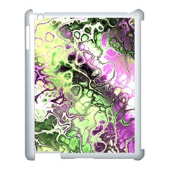 Awesome Fractal 35d Apple Ipad 3/4 Case (white) by MoreColorsinLife
