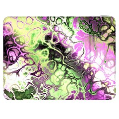 Awesome Fractal 35d Samsung Galaxy Tab 7  P1000 Flip Case by MoreColorsinLife