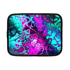 Awesome Fractal 35b Netbook Case (small)  by MoreColorsinLife